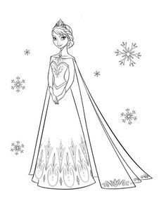Disney Frozen Coloring Page 12