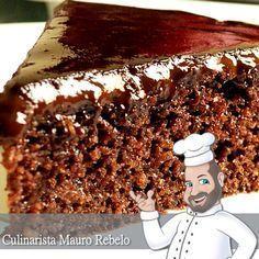 bolo de chocolate                                                                                                                                                                                 Mais