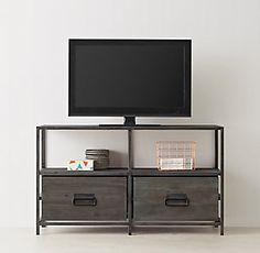 Media Storage & Bookcases   RH TEEN