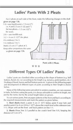 Zadakar Beginner Sewing Patterns, Dress Sewing Patterns, Beginners Sewing, Sewing Hacks, Sewing Tutorials, Sewing Projects, Sewing Crafts, Pattern Cutting, Pattern Making