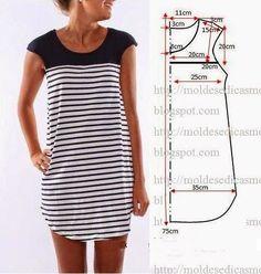 Ideas para el hogar: 35 Moldes de prendas para coser
