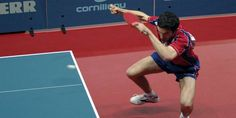 Tennis de table -                                                                     Championnat d'Europe -                               Emmanuel Lebesson, premier champion d'Europe français depuis 40 ans