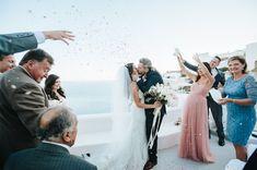 Iris +Steve   All Bliss Photography   Oia, Santorini, Greece   The Wedding Dress: Stella York 6142