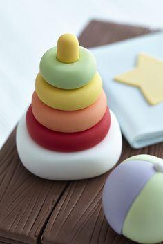 Toy box cake step 6