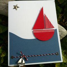 Carte « bateau sur l'eau | Mon faire-part est unique «