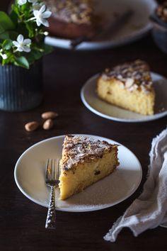 Ricotta and Almond Polenta Cake I foolproofliving.com