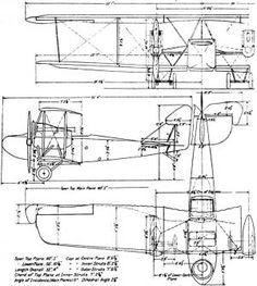 vintage airplane blueprint