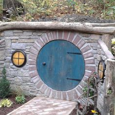 What a garden feature! Building our own Hobbit hole.
