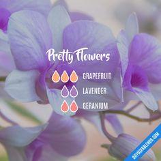 Pretty Flowers — Essential Oil Diffuser Blend