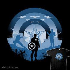Soldier of Freedom #captainamerica #comic #comics #film #marvelcomics #movie #silhouette #whitebison
