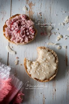 Two heavenly vegan butters – Strawberry Vanilla the + Macadamia Toasted Coconut