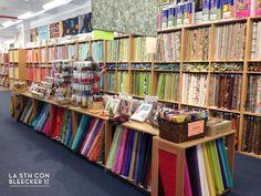 Si eres una apasionada del patchwork, no te puedes perder una de las mejores tiendas de telas en Nueva York.