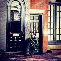 & Tiny Door Beacon Hill Boston | Small doors Doors and Architecture