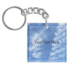 Clouds in a Clear Blue Sky Keychain - Christmas Eve Clear Blue Sky, Family Kids, Merry Xmas, Different Shapes, Kids Gifts, Christmas Eve, Santa, Clouds, Holidays