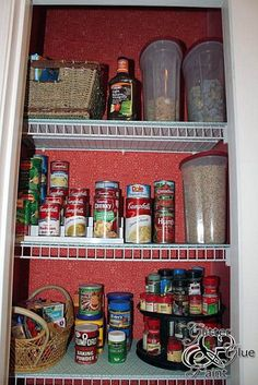 Organize your pantry.