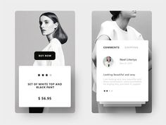 So if you are looking for inspiration for designing e-commerce app then here is collection of inspirational mobile UI designs for you to start from. Web Design, Id Card Design, App Ui Design, User Interface Design, Android Design, Design Layouts, Flat Design, Site Design, Mobile Ui Design
