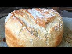 Pan casero fácil y rápido (con harina común) - YouTube