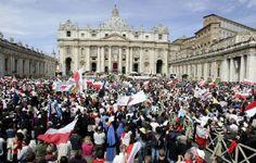 Rome already crushed with pilgrims for historic canonization of Pope John Paul II and John XXIII - Living Faith - Home & Family - News - Catholic Online