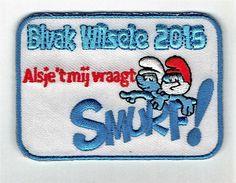 Bivak Wilsele 2015 Alsje't mij vraagt Smurf!