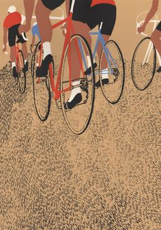 Screen prints – cycling ‹ Eliza Southwood – Illustrator