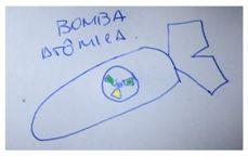 """Almirante OTHON. Estaríamos a """"um passo da BOMBA ATÔMICA""""."""
