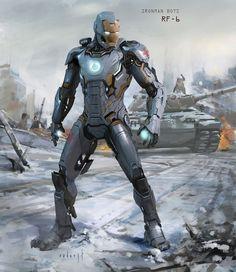 Iron Legion - Concept Art