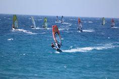 Windsurfing in Rhodes