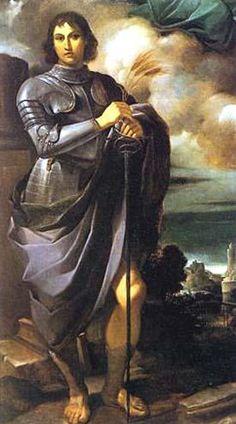 San Pancrazio Patron of Taormina Guercino 1616 - San Pancrazio - Wikipedia