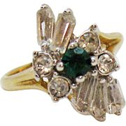.. just purchased a href='https://www.rubylane.com/item/212146-J16240/?utm_source=share_cc'Vintage Cubic Zirconia Emerald Diamond Baguette 18K Gold Electric Plated Cocktail Ring/a from a href='https://www.rubylane.com/shop/teesantiqueorchard?utm_source=share_cc'Appletree Junction Antiques/a at a href='https://rubylane?utm_source=share_cc'Ruby Lane/a