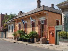 New Orleans, LA- Love that peachish color
