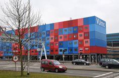 kleur in de architectuur, kankercentrum amsterdam vumc