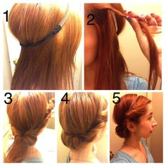 Easy Peasy Hairstyle Tutorial you Don't Want to Miss…
