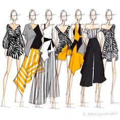 22 Trendy Ideas For Fashion Drawing Sketches Illustration Moda Moda Fashion, Fashion Art, Editorial Fashion, Trendy Fashion, Fashion Models, Classy Fashion, Fashion Shoes, Fashion Collage, Pink Fashion