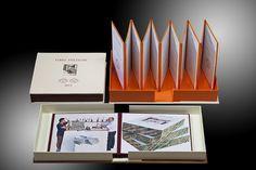 Album dinamici | Cartaetecnica | Legatoria Andreotti Gallarate |Marmorizzazione carta
