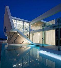 futuristic design   The Most Futuristic House Design In The World ...
