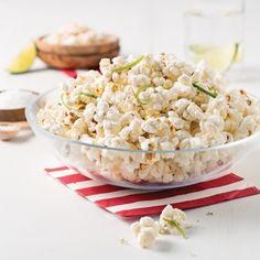 Maïs éclaté à la noix de coco et lime - Recettes - Cuisine et nutrition - Pratico Pratique Wontons, Potato Salad, Recipies, Potatoes, Ethnic Recipes, Magazines, Desserts, Pop Corn, Calories