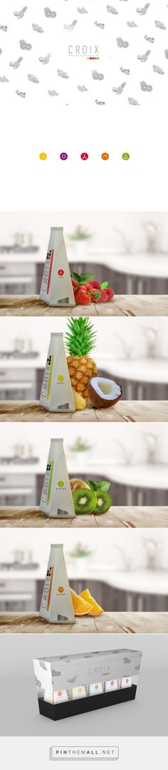 Graphic design, industrial design and packaging for CROIX (Detox cold pressed juice) on Behance by Hi Estudio Tepatitlán de Morelos, Mexico curated by Packaging Diva PD. Interesting design concept.