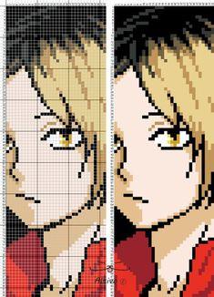 Pixel art anime схемы