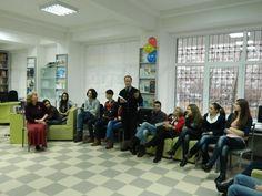 Clubul Logos la filiala Transilvania. 02.02.2012