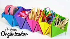 Origami: Organizador de Escritorio FACIL
