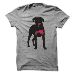 Rottie Heart T-Shirts, Hoodies. ADD TO CART ==►…