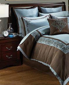 Bridgeport 24 Piece Comforter Sets - Bed in a Bag - Bed & Bath - Macy's