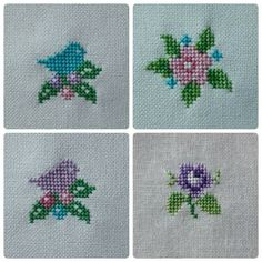Schemata und Diagramme von mit Etamin behandelten Handtüchern – New Ideas Tiny Cross Stitch, Cross Stitch Bookmarks, Cross Stitch Borders, Cross Stitch Flowers, Counted Cross Stitch Patterns, Cross Stitch Designs, Cross Stitching, Cross Stitch Embroidery, Embroidery Patterns