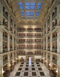 insanely beautiful library
