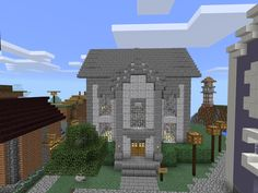 hall town minecraft discover