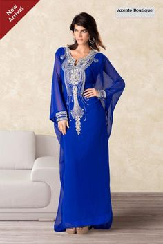 Super Elegant Dubai Style Kaftans D2801A by Azontoboutique on Etsy, £74.00