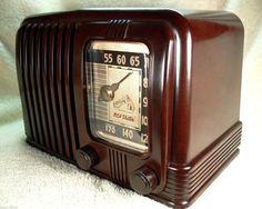 Gorgeous 1940 Prewar RCA Victor Nipper Bakelite Tube Radio Art Deco Gem | eBay