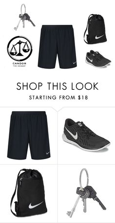 """""""Candor Gym"""" by hiltzerin-1 on Polyvore featuring NIKE, Givenchy, men's fashion and menswear"""