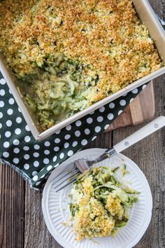 Zucchini Basil Casserole from Julie Hasson's Vegan Casseroles #vegan | Keepin' It Kind