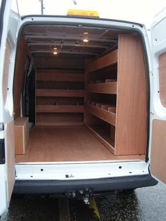 Ford Transit - 3 shelf kit to bulkhead and offside